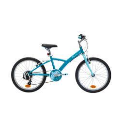 """Kinderfahrrad 20"""" Trekkingrad Original 120 türkis/blau"""