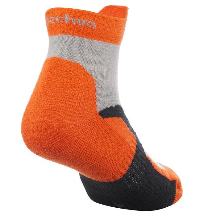 2 paires de chaussettes de randonnée montagne tige mid enfant crossocks Turquois - 1259127