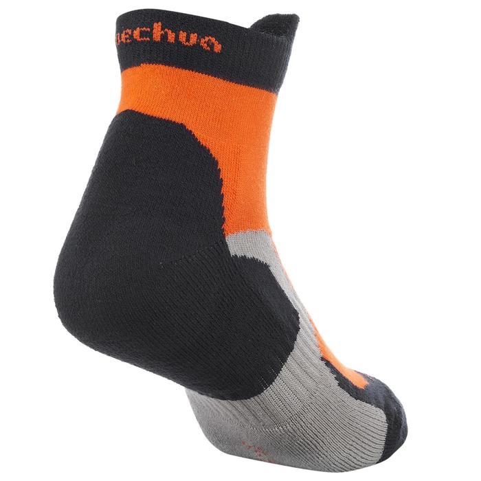 2 paires de chaussettes de randonnée montagne tige mid enfant crossocks Turquois - 1259128