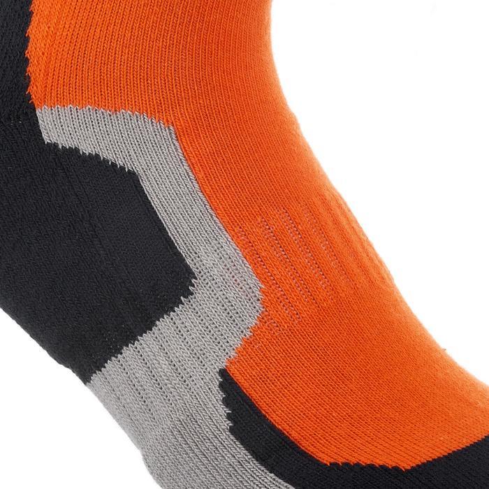 2 paires de chaussettes de randonnée montagne tige mid enfant crossocks Turquois - 1259131