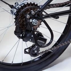 """Proteção de Desviador para Bicicleta de 20 e 24"""" Preto"""