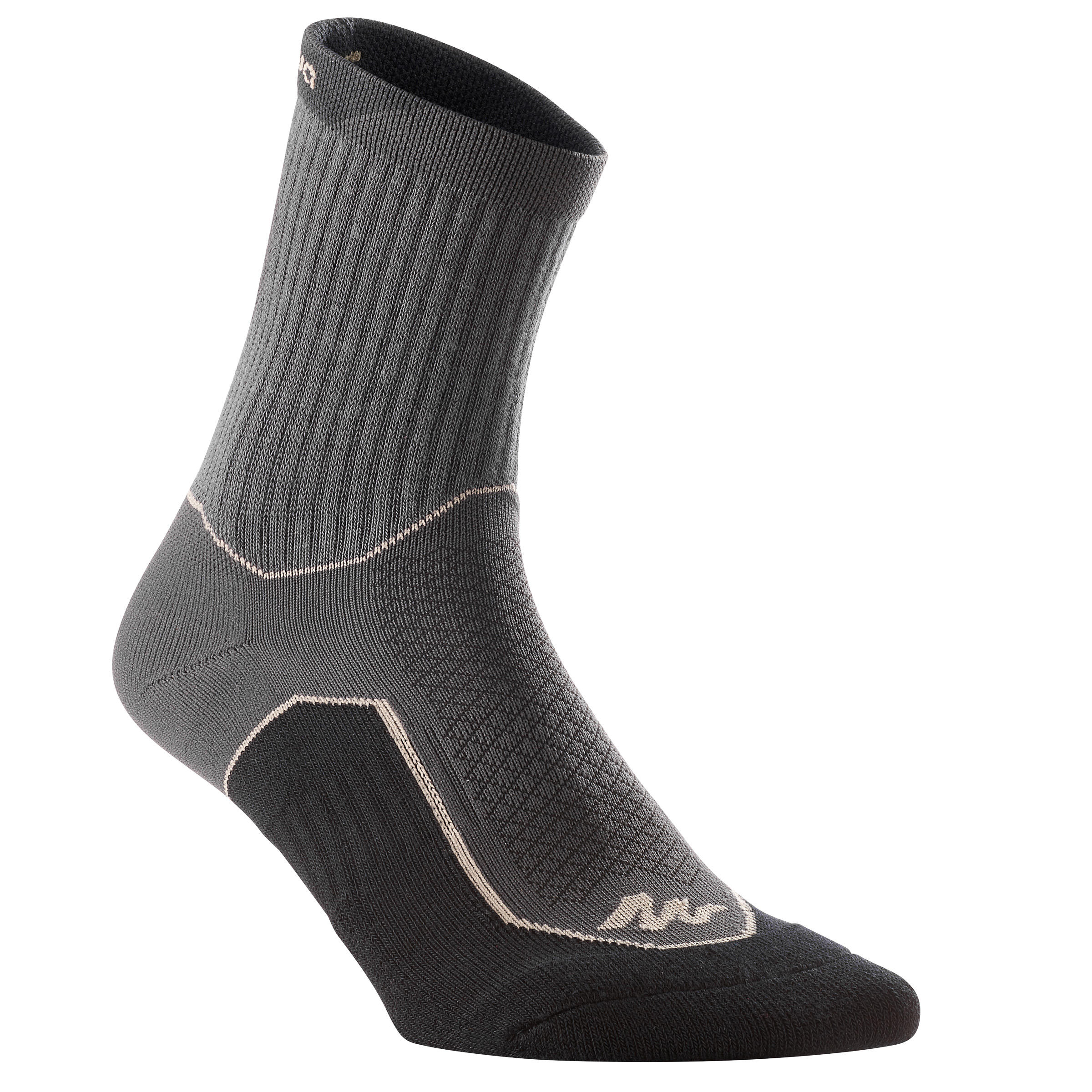 NH500 High country walking socks - black x 2 pairs