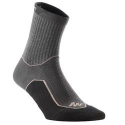 兩雙入高筒郊野健行襪-NH500-黑色