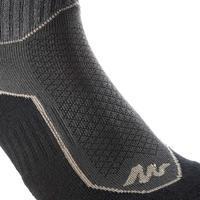 NH500 High Nature Walking Socks - Black x 2 Pairs