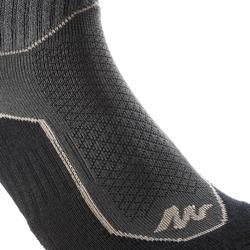 Calcetines de senderismo naturaleza NH500 Largos negro x 2 pares