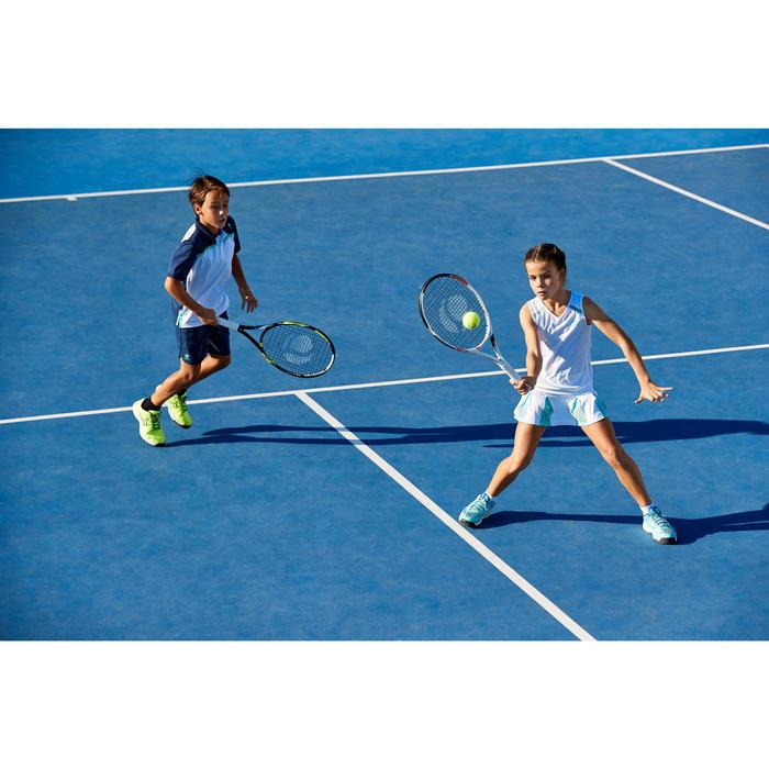 Tennisschoenen voor kinderen Artengo TS990 turquoise