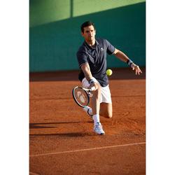 Heren tennispolo Dry 500 marineblauw