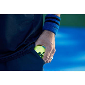 SHORT TENNIS HOMME DRY 100 MARINE - 1259410