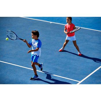 Tennisschoenen voor kinderen Artengo TS560 grijs/roze