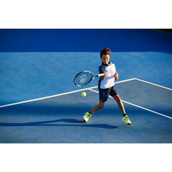Tennisschuhe TS990 Multicourt Turnschuhe Kinder neongelb