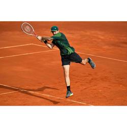 適用紅土場地網球鞋TS990-黑黃配色