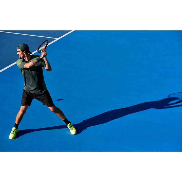 SHORT DE TENNIS DRY 500 HOMME NOIR