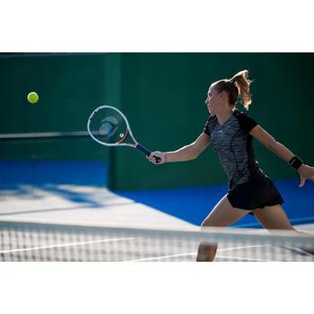 Tennisracket voor volwassenen TR 960 Precision wit/rood