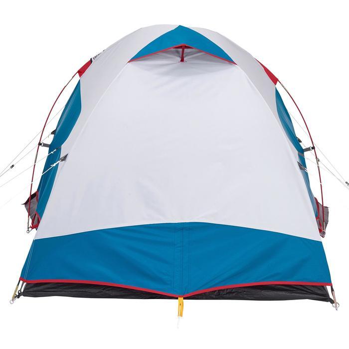 Campingzelt Arpenaz 2 XL Fresh&Black für 2 Personen blau/weiß