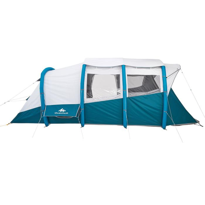 Tente de camping familiale Air seconds family 6.3 XL Fresh & Black I 6 personnes - 1259532