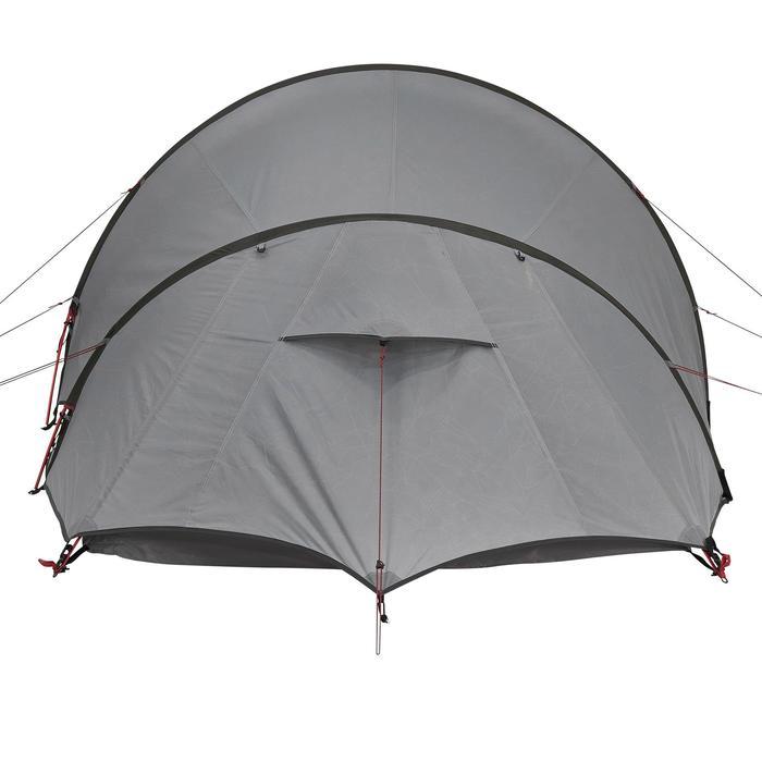 Tente de trek Quickhiker Ultralight 3 personnes gris clair - 1259534