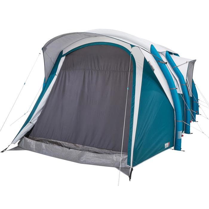 Tente de camping familiale Air seconds family 6.3 XL Fresh & Black I 6 personnes - 1259536