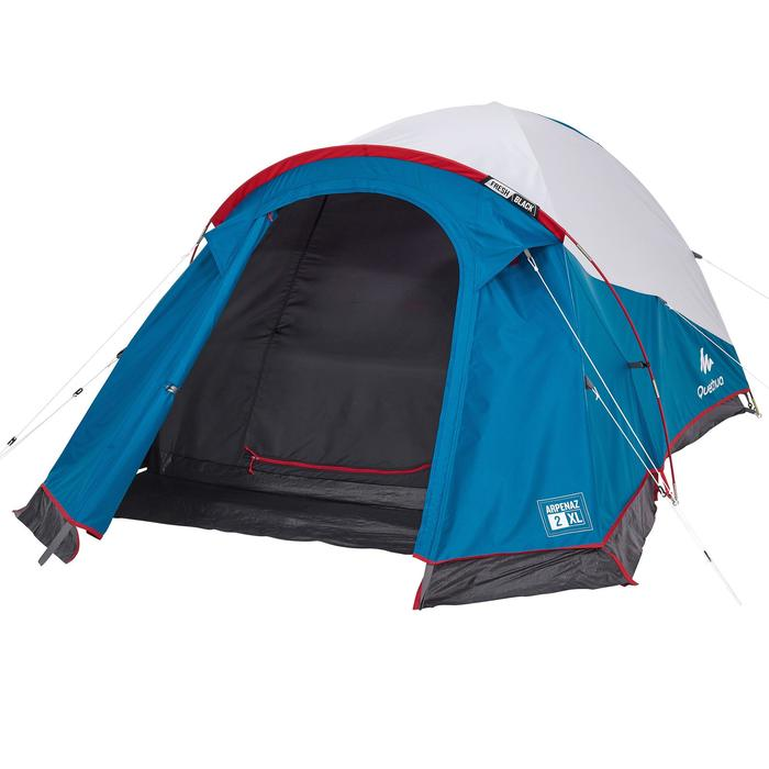 Tente de camping ARPENAZ 2 XL FRESH&BLACK | 2 personnes blanche - 1259542