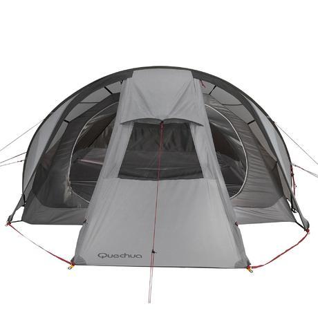 Tenda Quickhiker Ultralight 3 Posti Grigio Chiaro Quechua