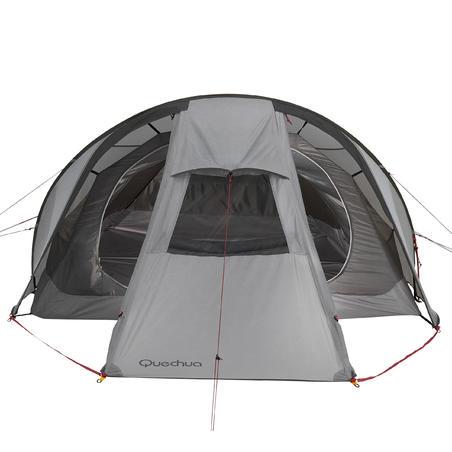 Quickhiker Ultralight 3-Person Trekking Tent - Light Grey