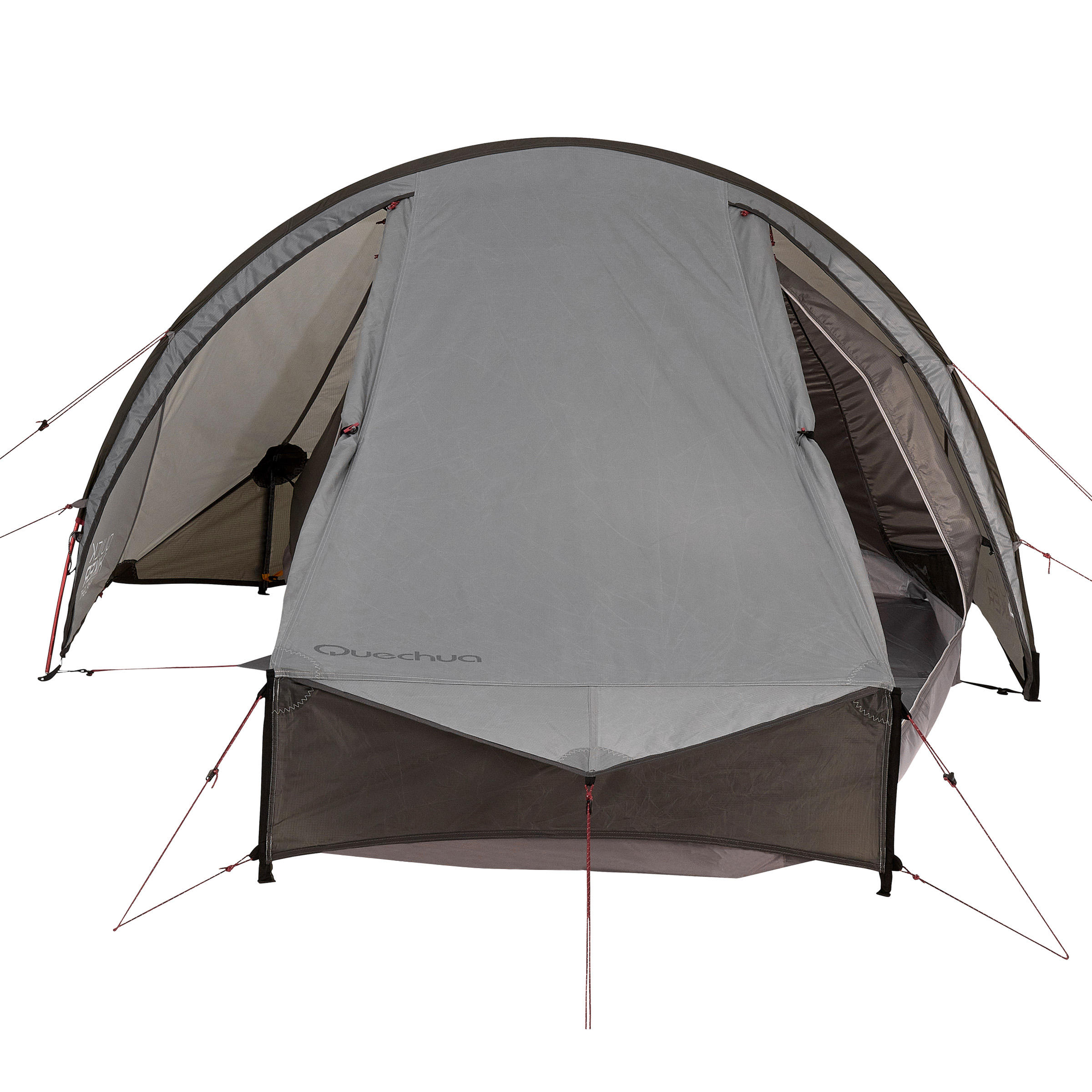 QuickHiker Ultralight 2-Person Trekking Tent - Light Grey