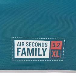 Kampeertent opblaasbaar Air Seconds 5.2 F&B 5 personen 2 slaapcompartimenten