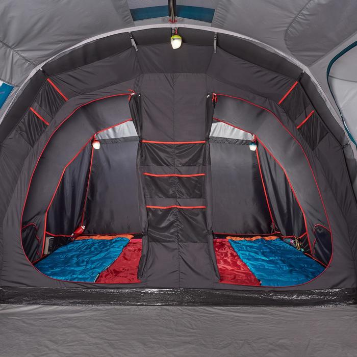quechua opblaasbare gezinstent family 6 3 xl fresh black 6 personen. Black Bedroom Furniture Sets. Home Design Ideas