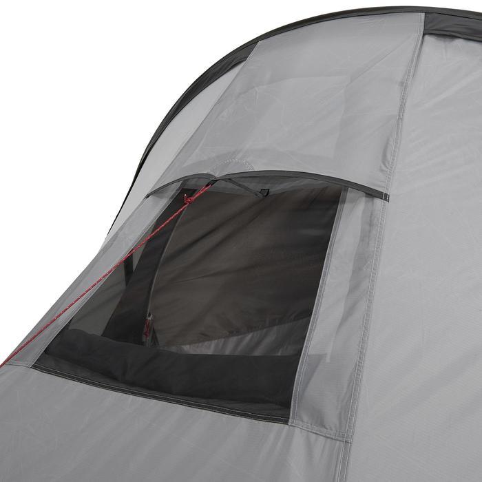 Tente de trek Quickhiker Ultralight 3 personnes gris clair - 1259583