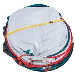 Tente de camping 2 SECONDS 2 XL FRESH&BLACK | 2 personnes bleu et blanche