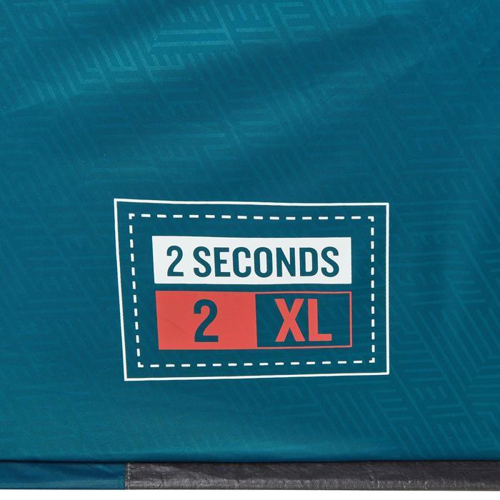 Kampeertent 2 Seconds 2 XL Fresh&Black | 2 personen blauw en wit