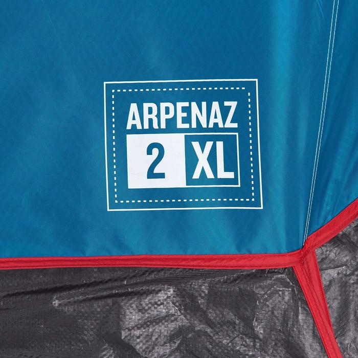 Tente de camping ARPENAZ 2 XL FRESH&BLACK | 2 personnes blanche - 1259607
