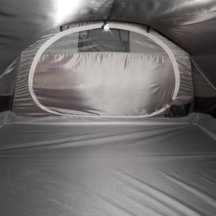 Tente de trek Quickhiker Ultralight 3 personnes gris clair - 1259610