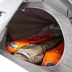 Tente de trekking Quickhiker Ultralight 3 personnes gris clair