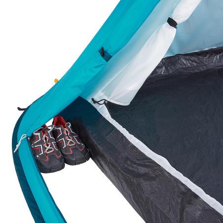 Carpa de Camping Quechua MH100 2 Seconds 3 Personas Azul