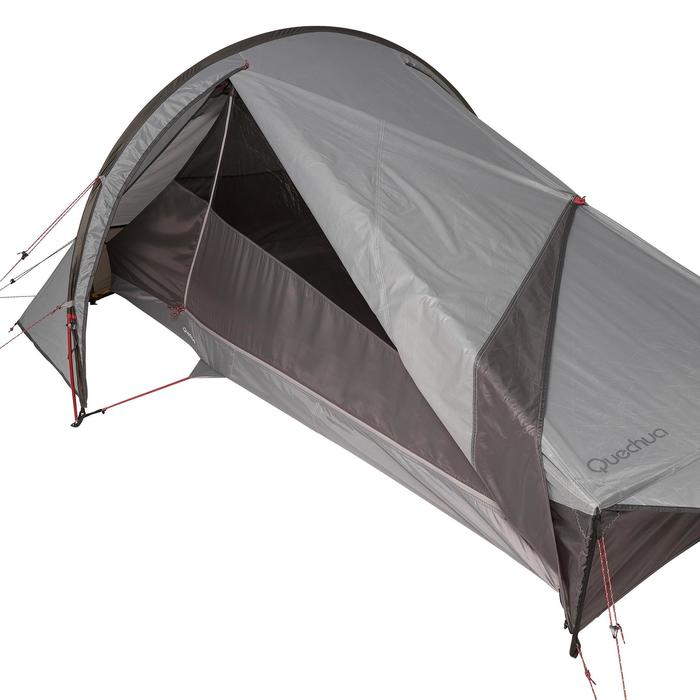 Tente de trek Quickhiker Ultralight 2 personnes gris clair - 1259629