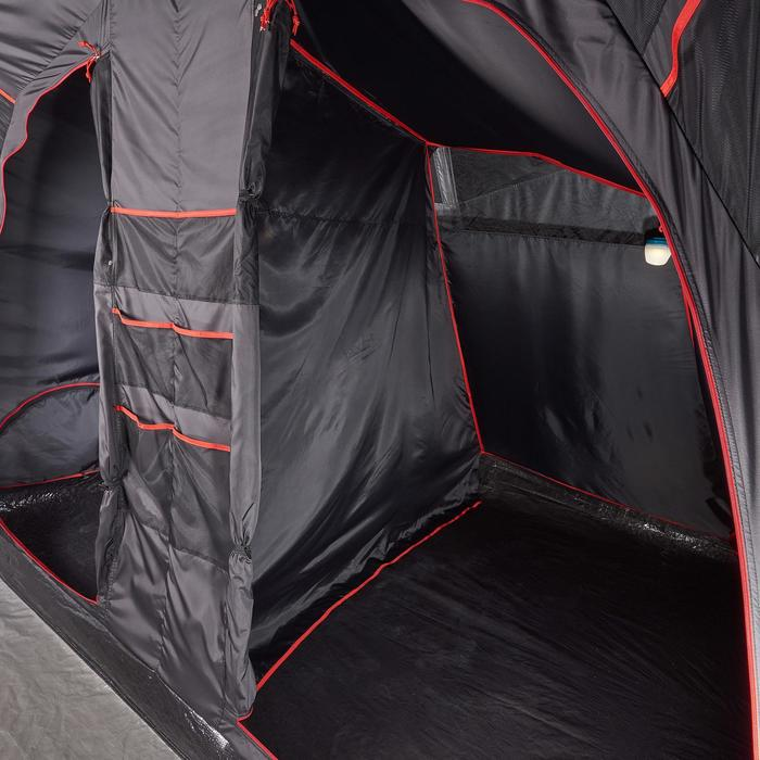 Tente de camping familiale Air seconds family 6.3 XL Fresh & Black I 6 personnes - 1259634