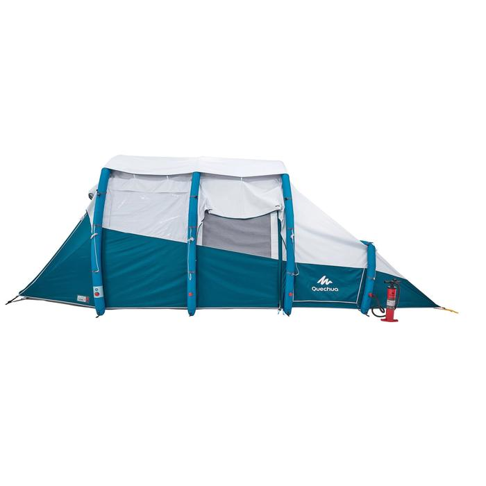 Tente de camping familiale Air seconds family 6.3 XL Fresh & Black I 6 personnes - 1259635