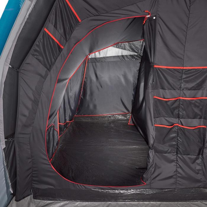 Tente de camping familiale Air seconds family 6.3 XL Fresh & Black I 6 personnes - 1259636