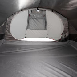 Quickhiker Ultralight 3-Person Trekking Tent - Light Grey