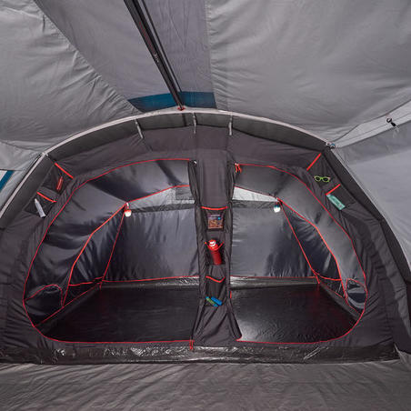 AIR SECONDS 5.2 FRESH & BLACK Inflatable Camping Tent | 5 Persons 2 rooms