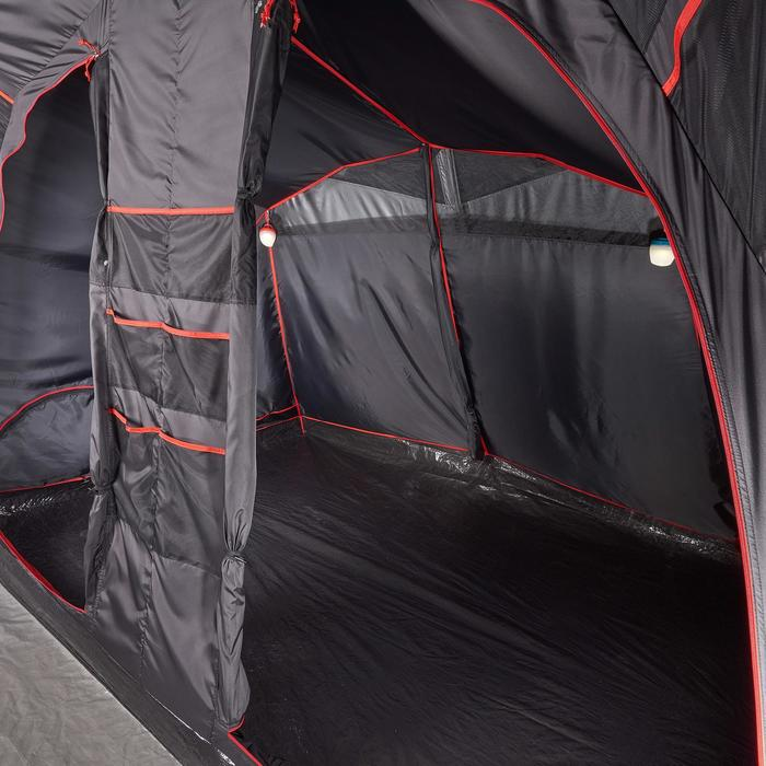 Tente de camping familiale Air seconds family 6.3 XL Fresh & Black I 6 personnes - 1259664