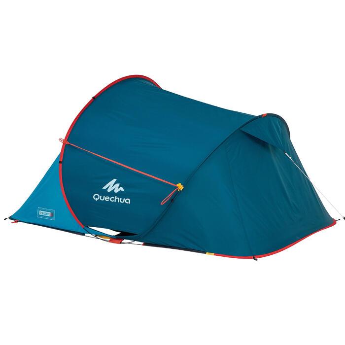 Tienda de camping montaje rápido 2 SECONDS | 2 personas azul