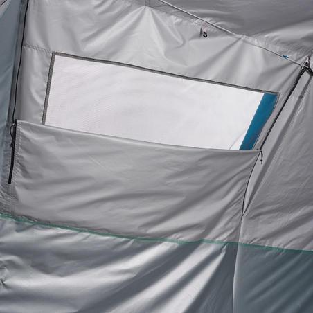Tente de camping gonflable AIR SECONDES 6.3 FRESH&BLACK | 6 Personnes 3 Chambres