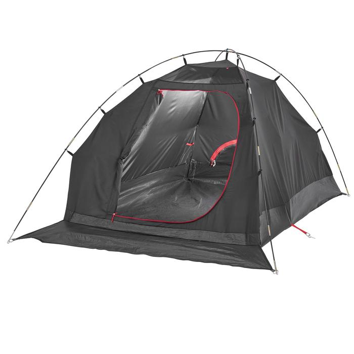Slaapcompartiment voor Quechua-tent Arpenaz 2 XL Fresh & Black