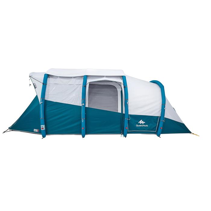 Tente de camping familiale Air seconds family 6.3 XL Fresh & Black I 6 personnes - 1259681