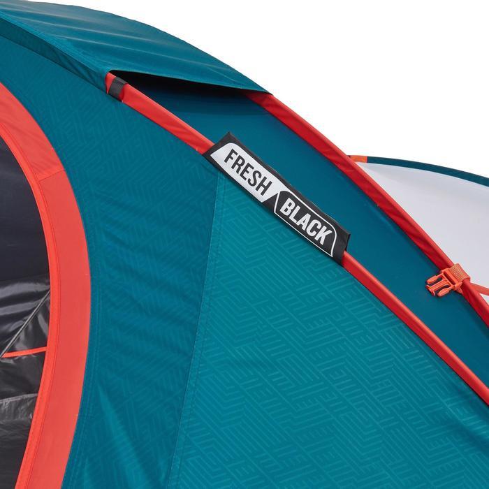 Tente de camping 2 SECONDS 3 XL FRESH&BLACK | 3 personnes blanche - 1259690