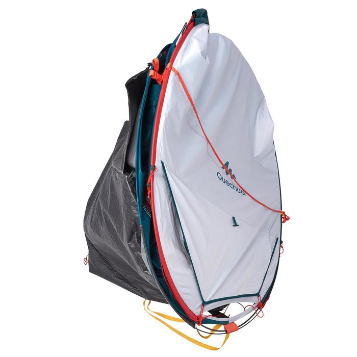 Pop up tent | 3 Persoons | Blauw/wit | 2 Seconds XL Fresh & Black
