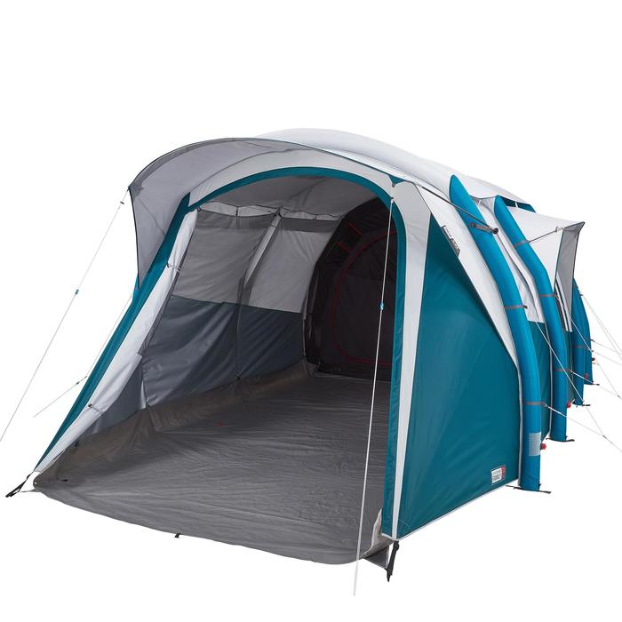 Tente de camping familiale Air seconds family 6.3 XL Fresh & Black I 6 personnes - 1259695