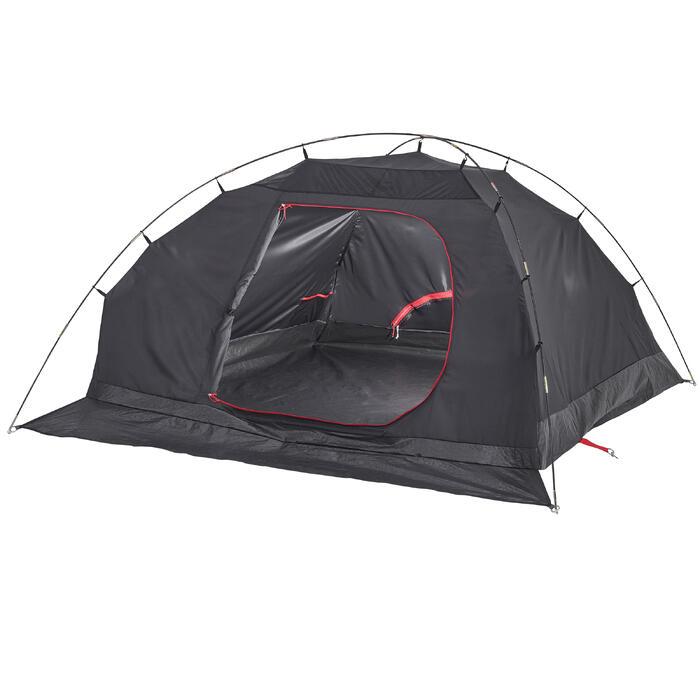 3人加大露營帳篷 白色