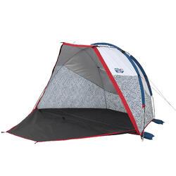Tweepersoons kampeerschuiltent met bogen Arpenaz Compact XL Fresh